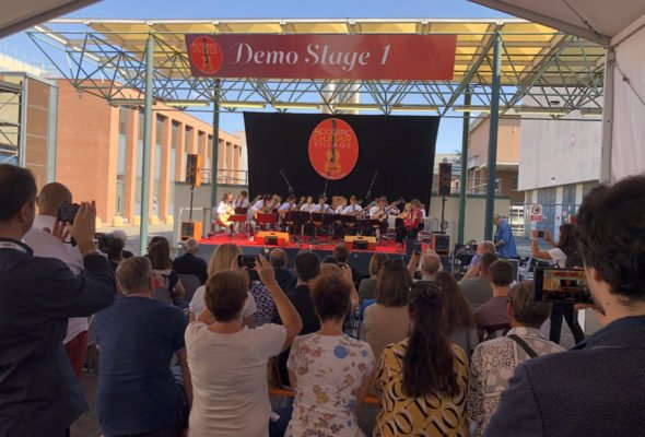 The road leading to the 2021 edition of the ACOUSTIC GUITAR VILLAGE within Cremona Musica International Exhibitions and Festival has been taken, and the organizational work has finally begun. Precisely, the event will be held at the Cremona Fair in September 2021, 24-25-26th.